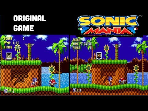Sonic Mania PC - Sonic Mania Classic Edition Mod by TheAtomicEmerald YT