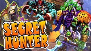 Secret Hunter - Smorc is king | Rise of Shadows | Hearthstone