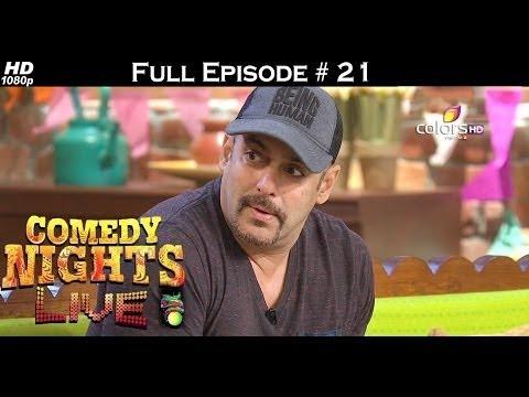 Download Comedy Nights Live - 2nd July 2016 - Salman Khan - Sultan - कॉमेडी नाइट्स लाइव - Full Episode HD