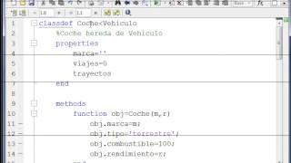 Programación Orientada a Objetos en Matlab