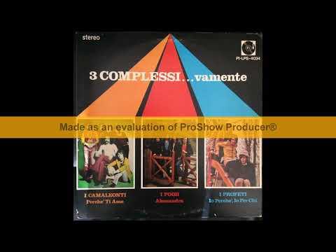 I Camaleonti,Pooh,I Profeti - 3 Complessi...Vamente (1973 - Full Album)