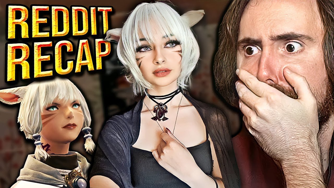 SHE'S REAL!? Asmongold Reacts to Fan-Made Memes | Reddit Recap #32 (FFXIV Special)