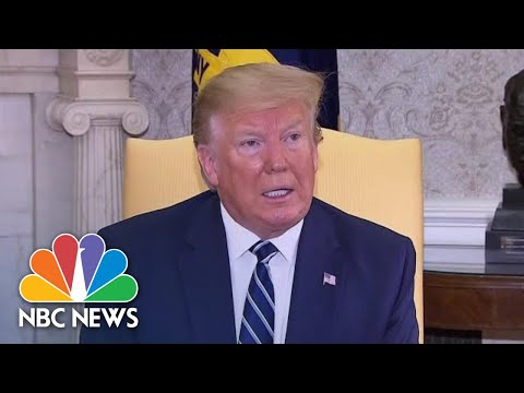 Donald Trump On Iran Shooting Down U.S. Drone: 'Hard To Believe It Was Intentional' | NBC News