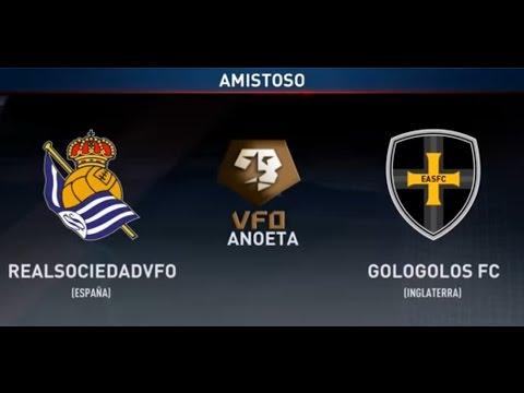 Real Sociedad eSport SEGUNDO AMISTOSO PRETEMPORADA VFO vs Gologolos