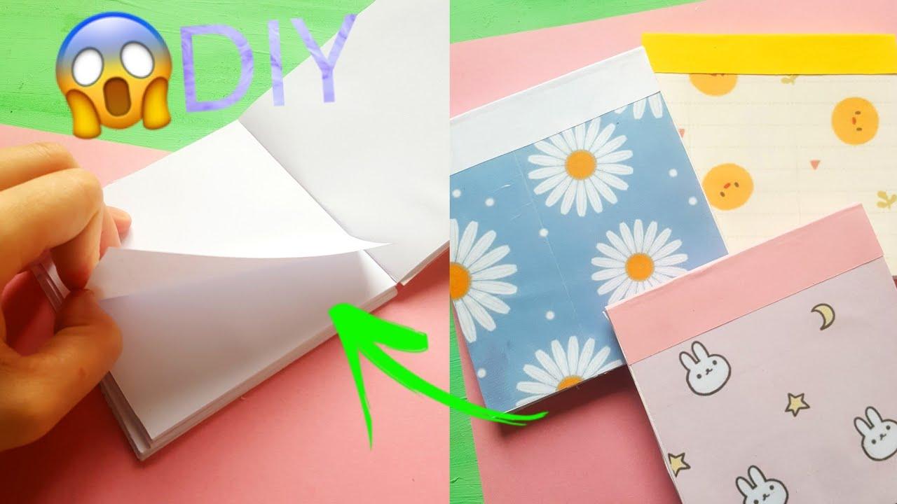اصنع بنفسك دفتر المهام من الالف للياء 😍👍| DIY To Do list notepad