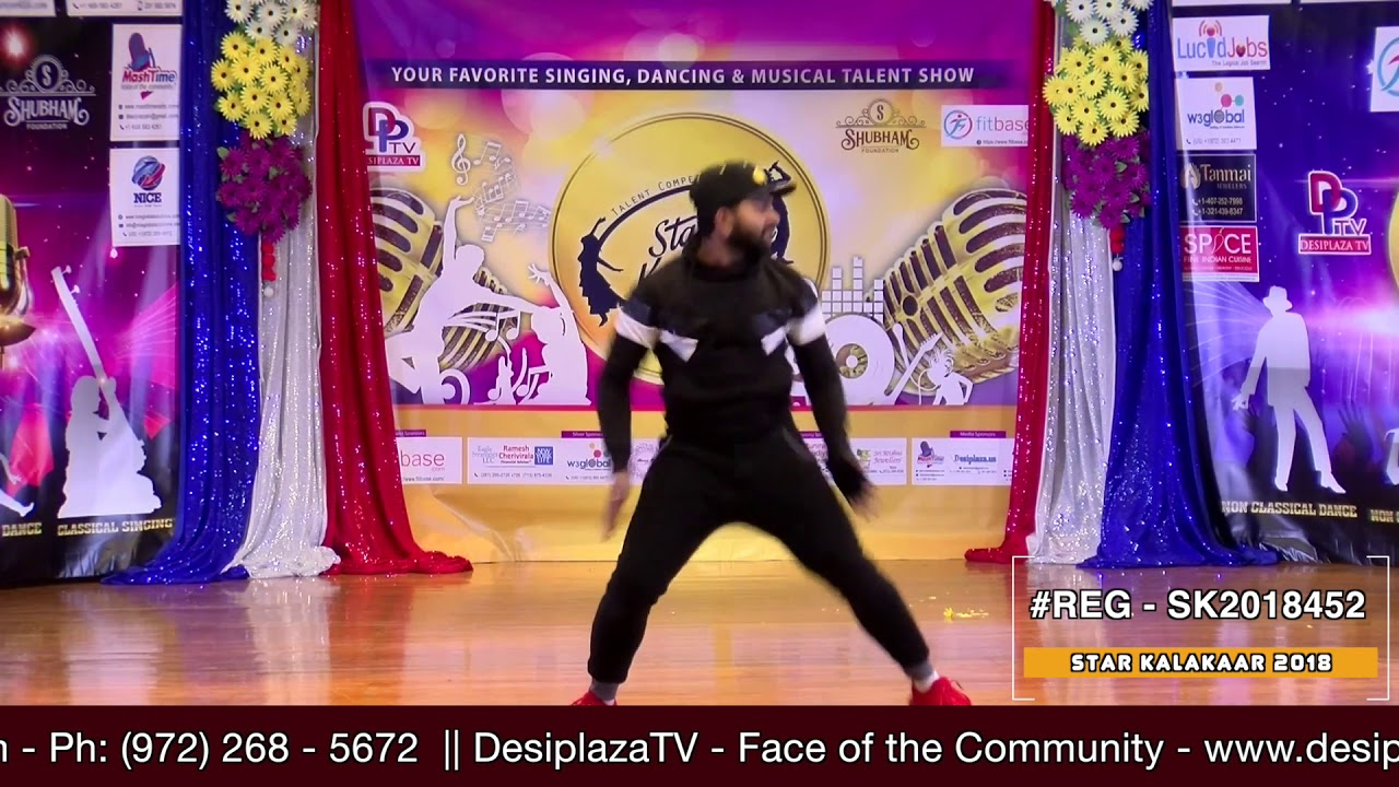 Registration NO - SK2018452 - Star Kalakaar 2018 Finals - Performance