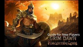 Grim Dawn Starting/Tips Guide