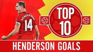 TOP 10: Jordan Henderson's best Liverpool FC goals