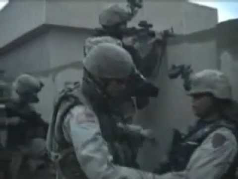 1st Infantry Division Fighting In Fallujah, Iraq (2004)