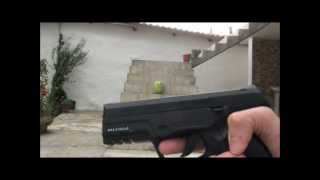 steyr M9A1 power test