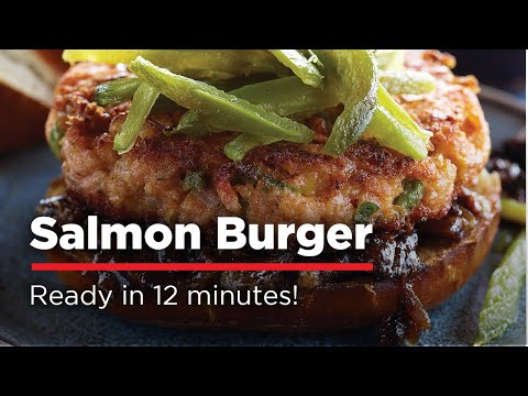How to cook salmon burgers on the grill