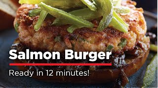 H-e-b Salmon Burger Grilling Tutorial