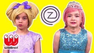 Zuzaachef: Episode 1 - Princess Cooking Competition - Princesses In Real Life | WildBrain Kiddyzuzaa