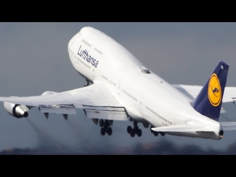 Frankfurt Airport Mega Mix - 30 Minutes of Planespotting - Boeing 747, B787, Airbus 380 ...