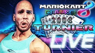 200€ MARIO KART Turnier LIVE - Flying Uwe