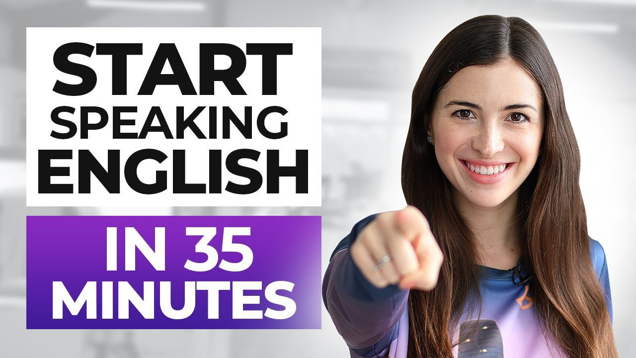 ALL the ENGLISH BASICS you need - Learn English IN 35 MINUTES