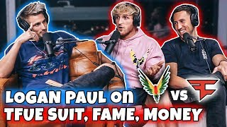 Logan Paul on TFUE Lawsuit & Why He Dropped Russian Slap Fight (Exclusive)
