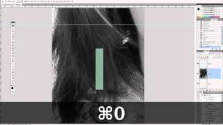 использование координатной сетки в Photoshop