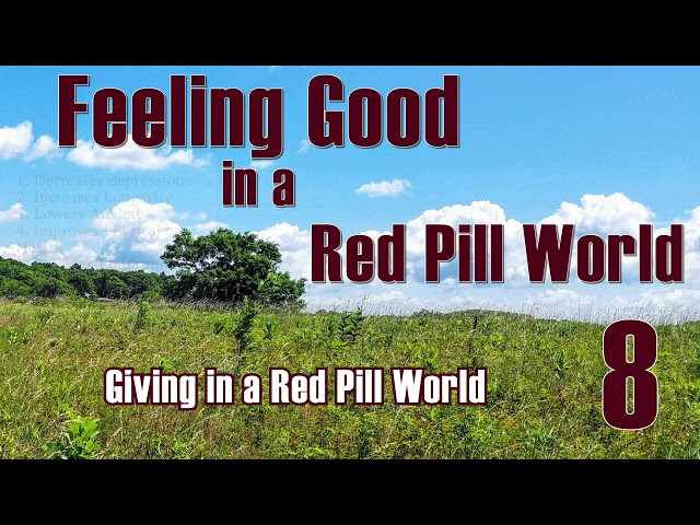Feeling Good in a Red Pill World #8 Giving