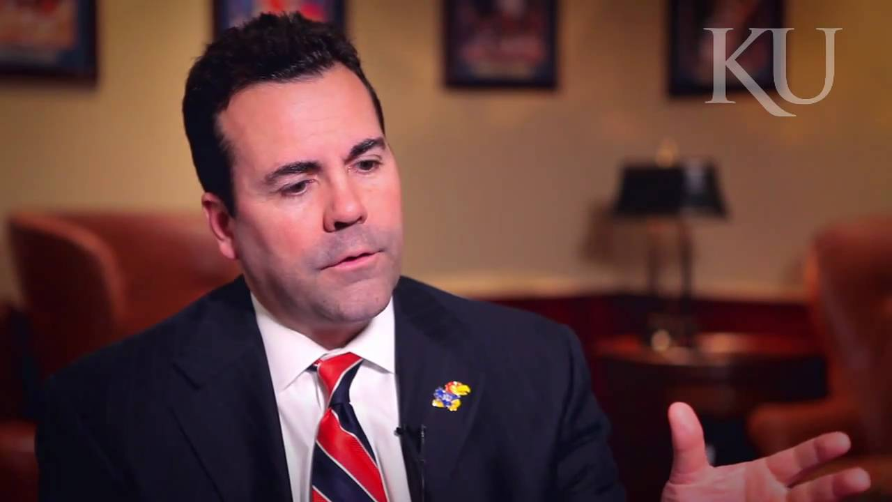 Interview with KU Athletics Director Sheahon Zenger - YouTube