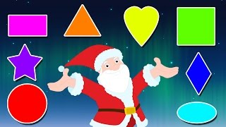 Learn Shapes With Santa Claus | Christmas Special | Educational Video for kids