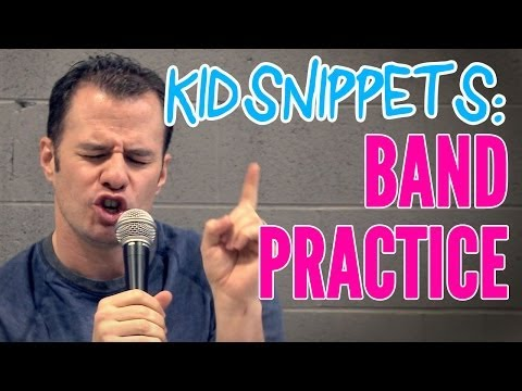 """Kid Snippets: """"Band Practice"""" (Imagined by Kids)"""