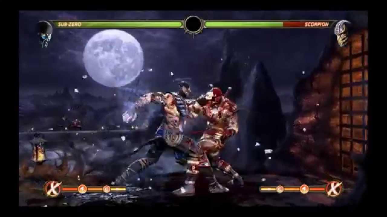 Mortal Kombat 9 MKX Skin Mods 2015 Combo Video