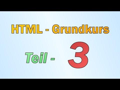 HTML - Teil 3 - Hintergrund, Linien, Grafiken