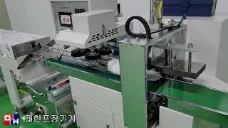 덴탈마스크 포장기계 - 대한포장기계
