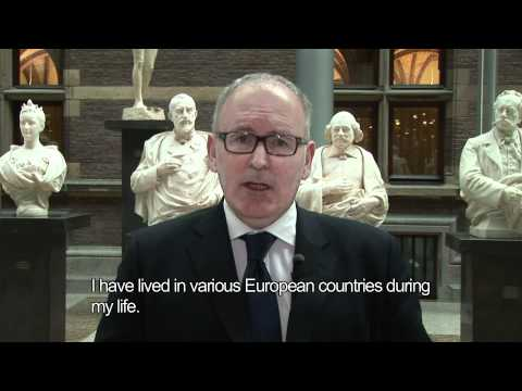 Frans Timmermans seeks your support!