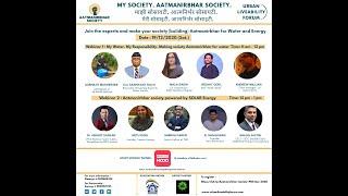 My Society. Aatmanirbhar Society. :- Making our buildings Aatmanirbhar for Water & Energy.