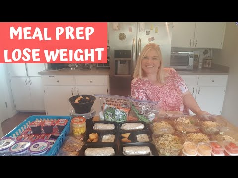 MEAL PREP | LOSE WEIGHT | BIG MAC SALAD | BREAKFAST BURRITOS | WW FREESTYLE