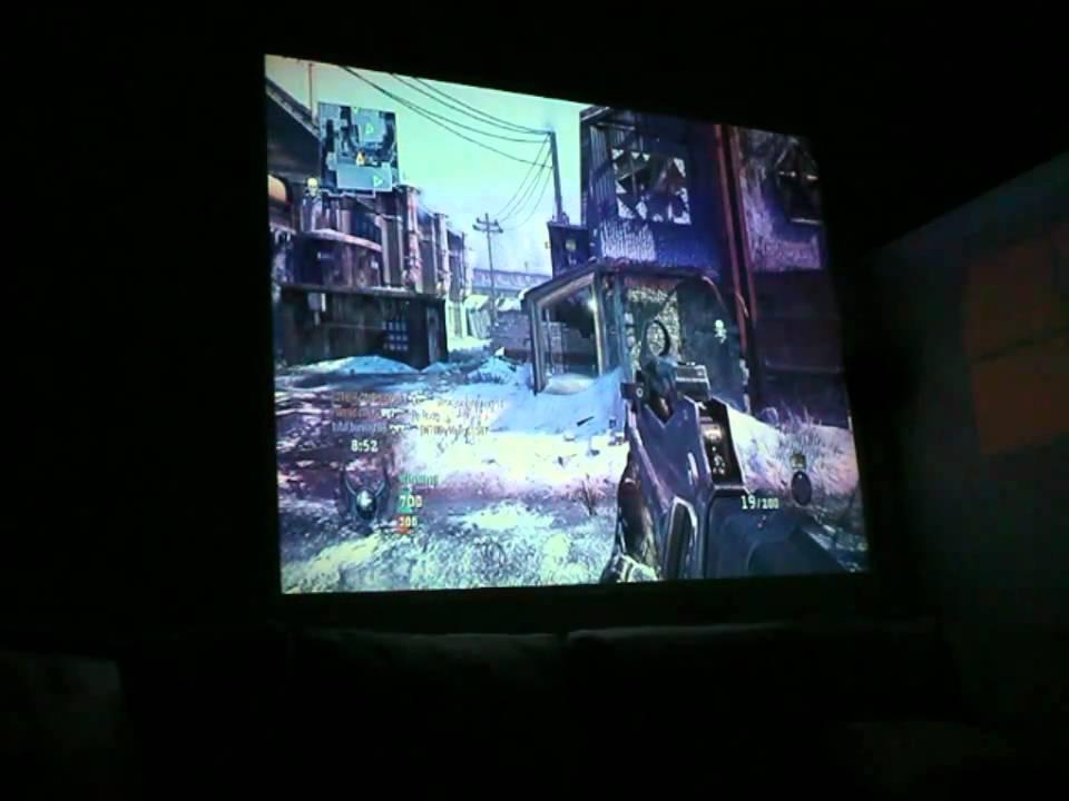 AAXA Tech M2 Micro Projector COD On Xbox 360 HDMI New Digital