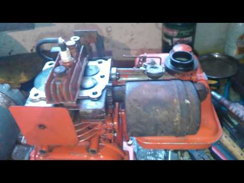 Functional cutaway engine test