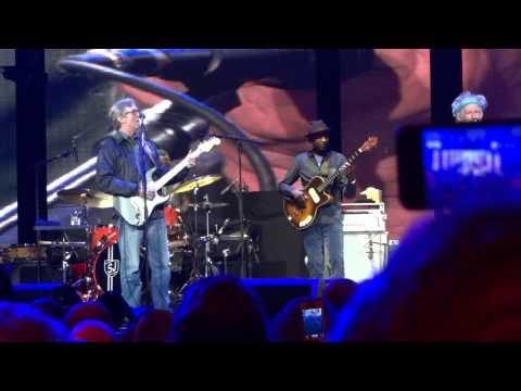Keith Richards with Eric Clapton-Serious Blues-Madison Square Garden