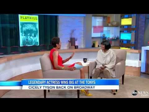 Cicely Tyson Interview 2013  Legendary Actress Wins Big at the Tonys