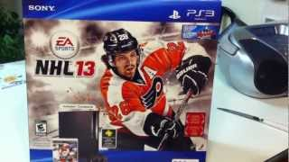 PS3 NHL 13 320 GB Bundle Unboxing
