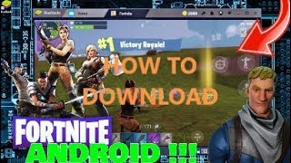 How to DOWNLOAD Fortnite mobile on an emulator