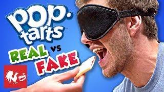BLIND POP TART TASTE TEST | RT Life