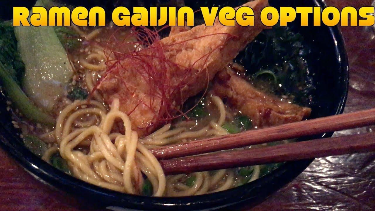 Ramen Gaijin Vegan Food Anniversary: Sonoma Road Trip Vlog 2