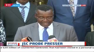 CJ David Maraga explains why JSC has taken action against Judge Prof. Jackton Ojwang