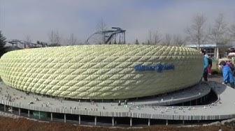 Allianz Arena im Legoland ist größtes Lego-Gebäude der Welt! #Legoland