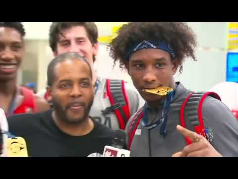 Hero's welcome for Team Canada's U19 basketball champs