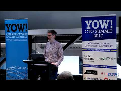 YOW! CTO Summit 2017 Mark Aufflick - The Future of Tech is Sustainable + Diverse