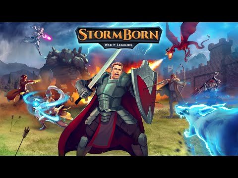 StormBorn: War of Legends Gameplay IOS / Android