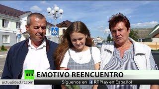 Una joven que se perdió hace 20 años se reencuentra con su familia