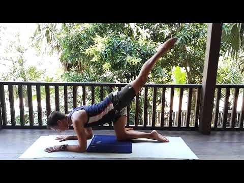 Yoga for MBSR with Simon Parish: Ardha Vrischikasana