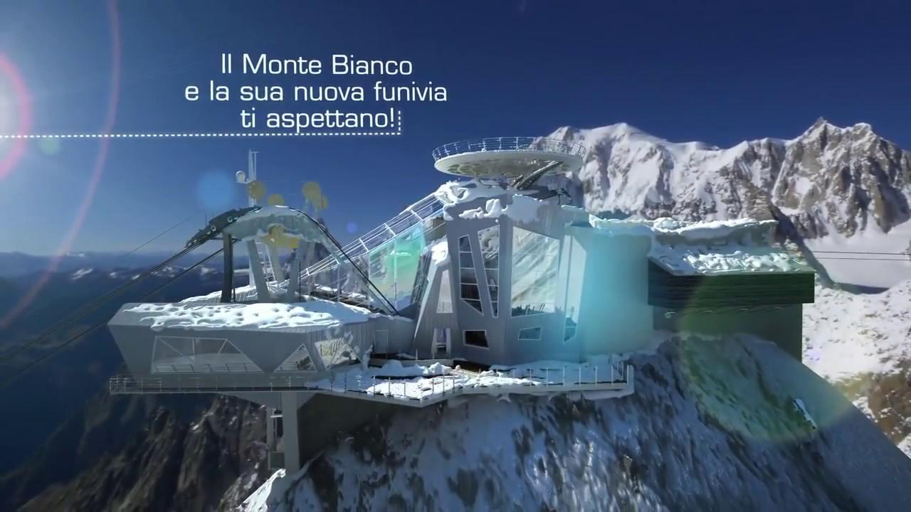 Skyway Monte Bianco Le Nuove Funivie Ita