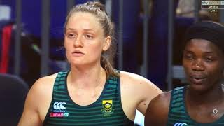 South African Anthem Vitality Quad Series International Netball 2019