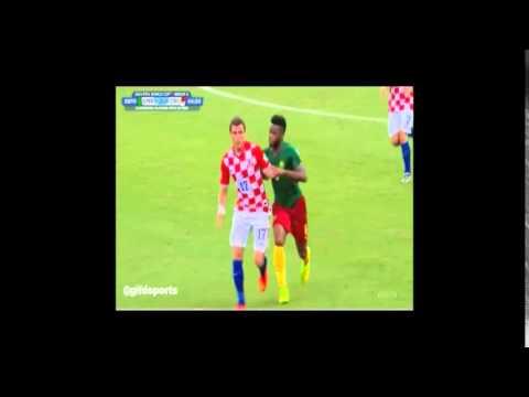 Song vs Mandžukić - CROATIA : CAMEROON 4:0 19.6.2014.